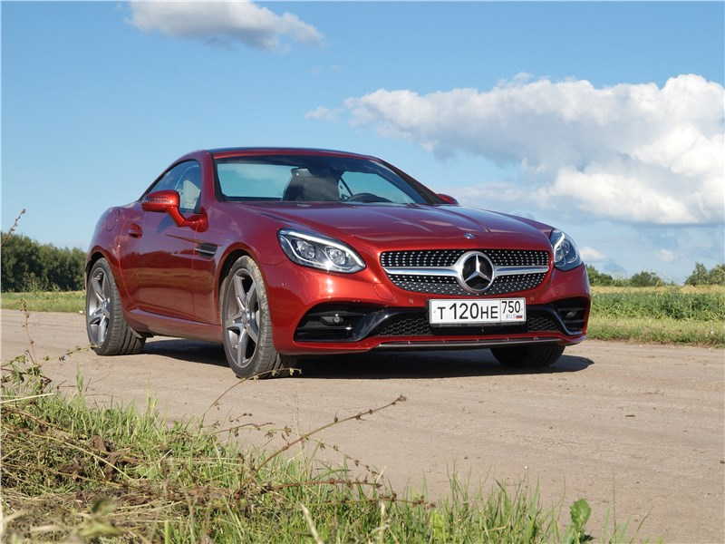 Mercedes-Benz SLC - mercedes-benz slc 2017 в рамках приличий