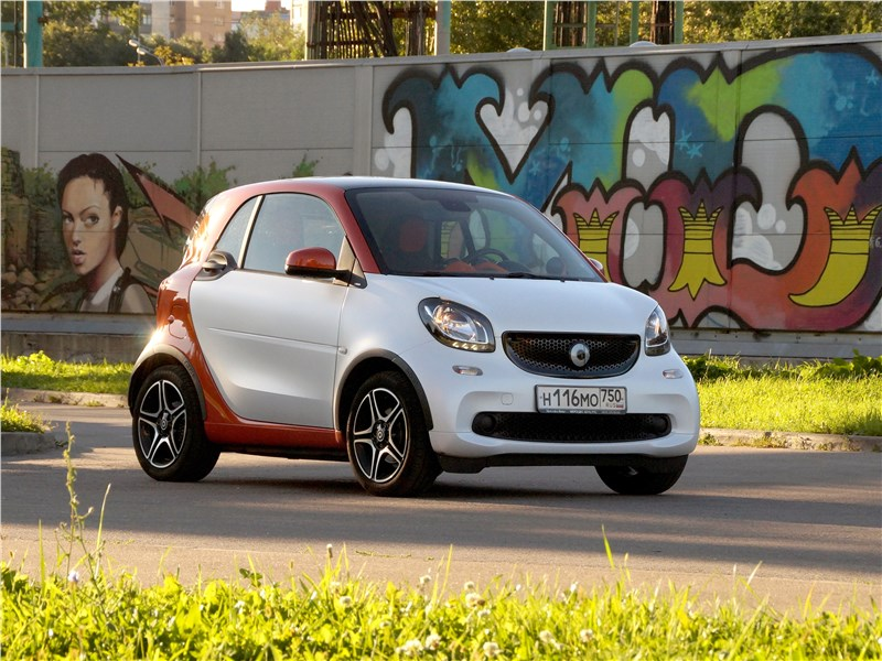 Smart Fortwo Coupe - smart fortwo 2015 субкультурист