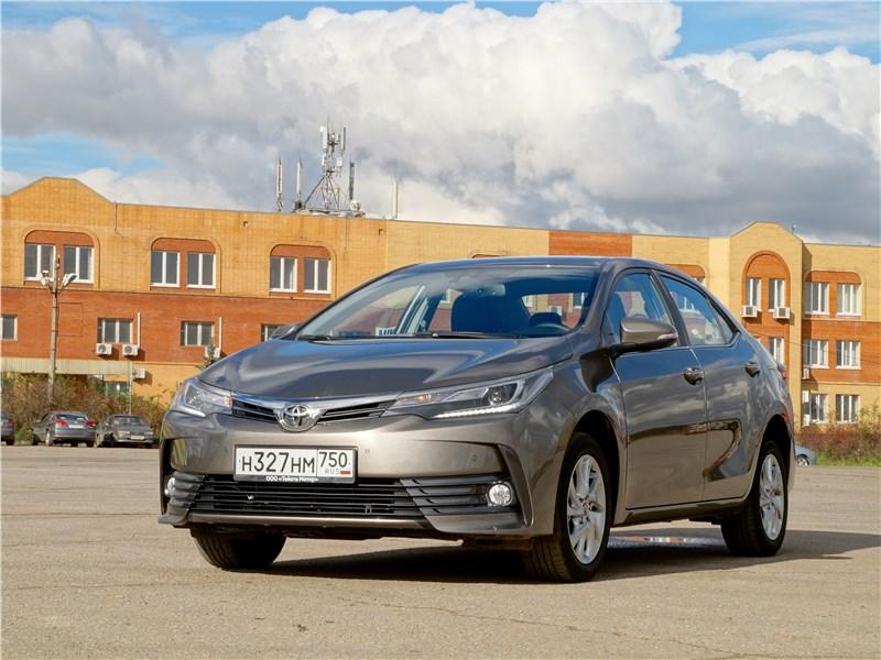Toyota Corolla 2017 Сохранить и приумножить