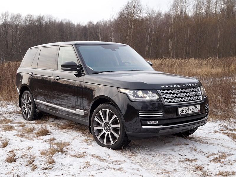 Range Rover LWB 2014 Роскошь как предубеждение