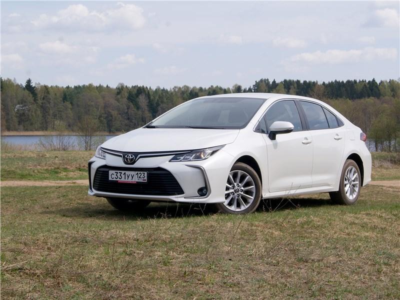 Toyota Corolla - toyota corolla 2019 сдать экзамены экстерном