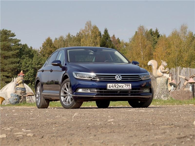 Volkswagen Passat 2015 Проверен электроникой