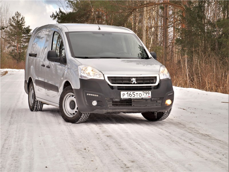 Peugeot Partner - peugeot partner tepee (2016) для работы больше и не надо