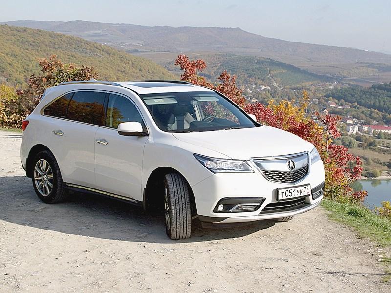 Acura MDX 2014 вид спереди 2