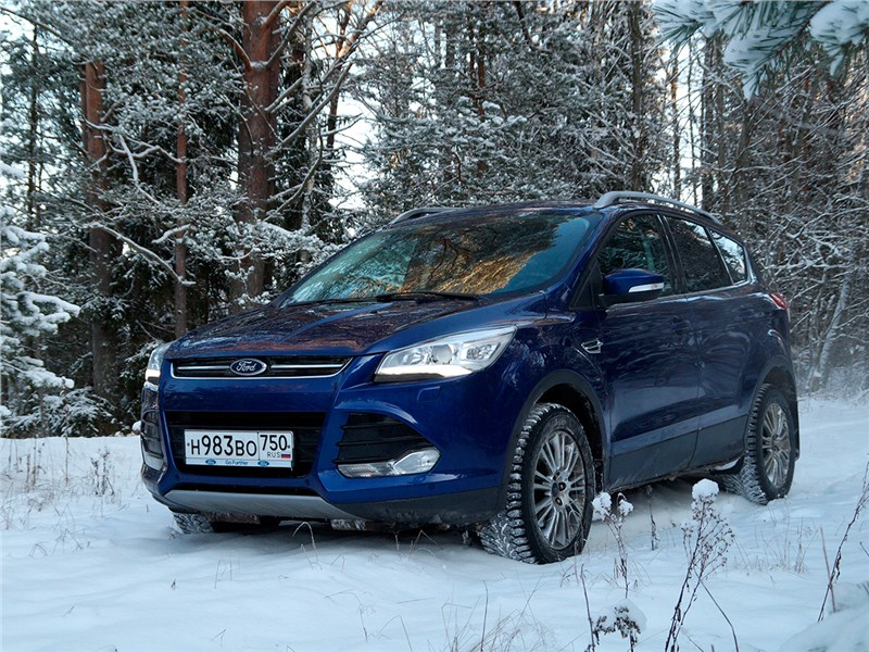 Ford Kuga - ford kuga 2013 тонкость ощущений