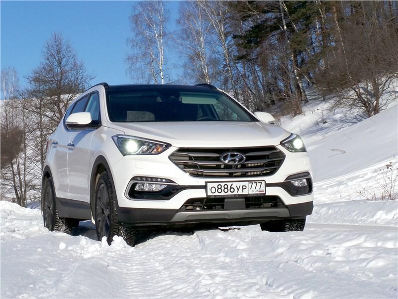 Hyundai Santa Fe 2015 Исполнитель желаний