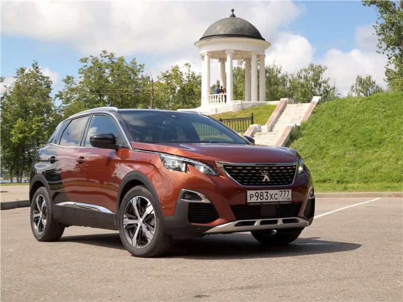 Peugeot 3008 2017 вид спереди