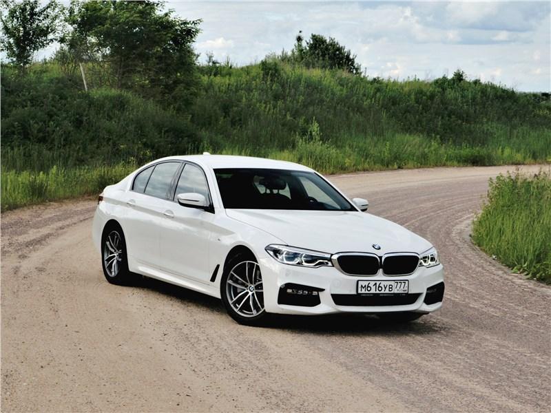 BMW 520d 2017 вид спереди
