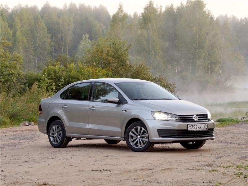 Volkswagen Polo Sedan 2016 вид спереди