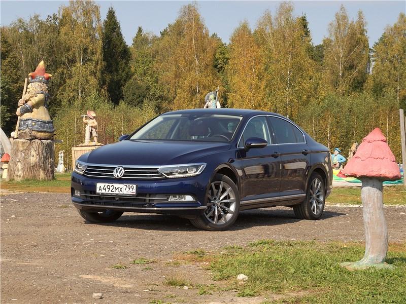 Volkswagen Passat - volkswagen passat 2015 вид спереди