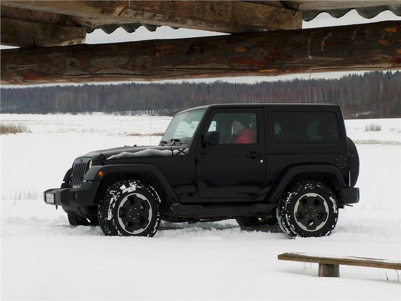 Jeep Wrangler 2007 вид сбоку