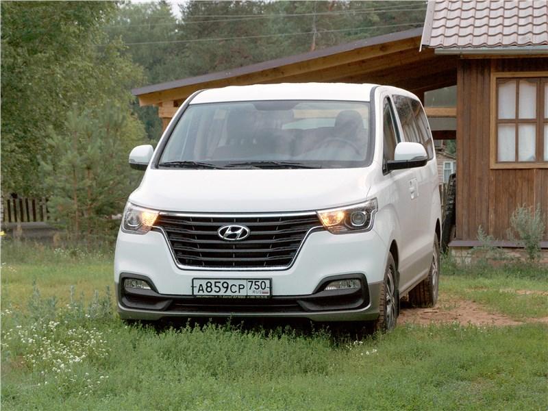Hyundai Н-1 2018 вид спереди
