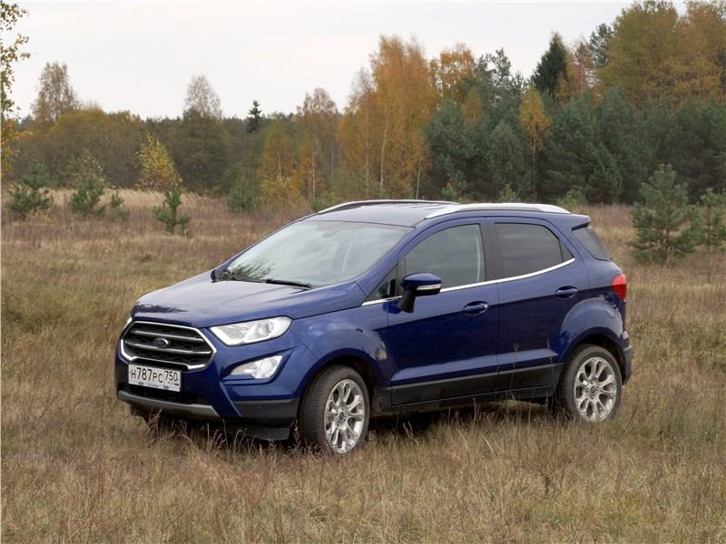 Ford EcoSport 2018 вид сбоку