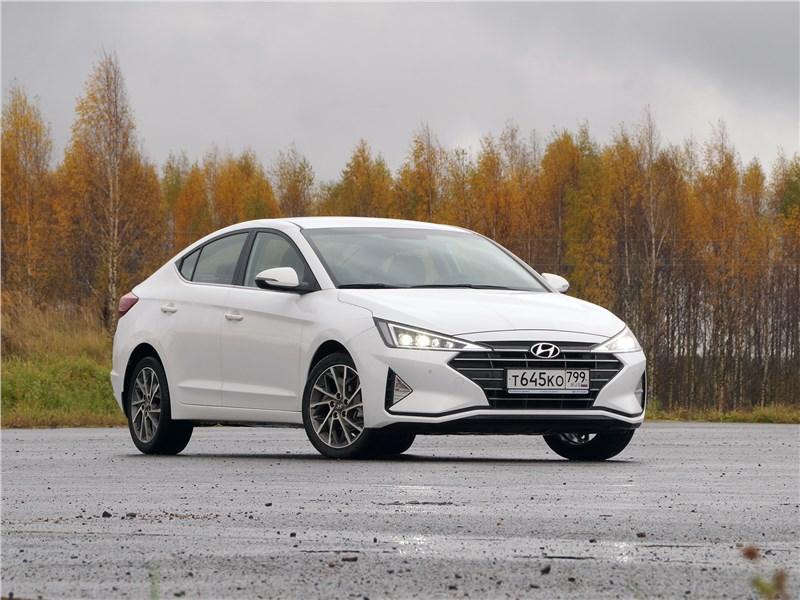 Hyundai Elantra - hyundai elantra 2019 вектор моды