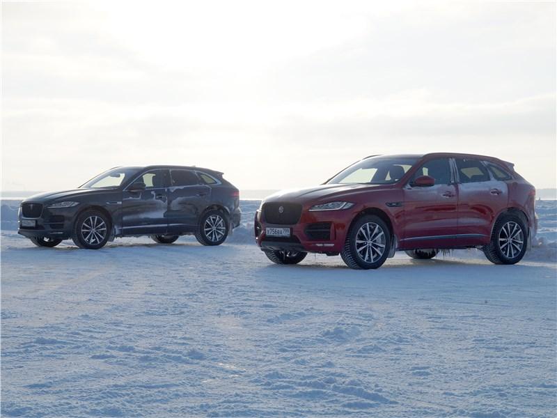 Jaguar F-Pace 2018 вид сбоку