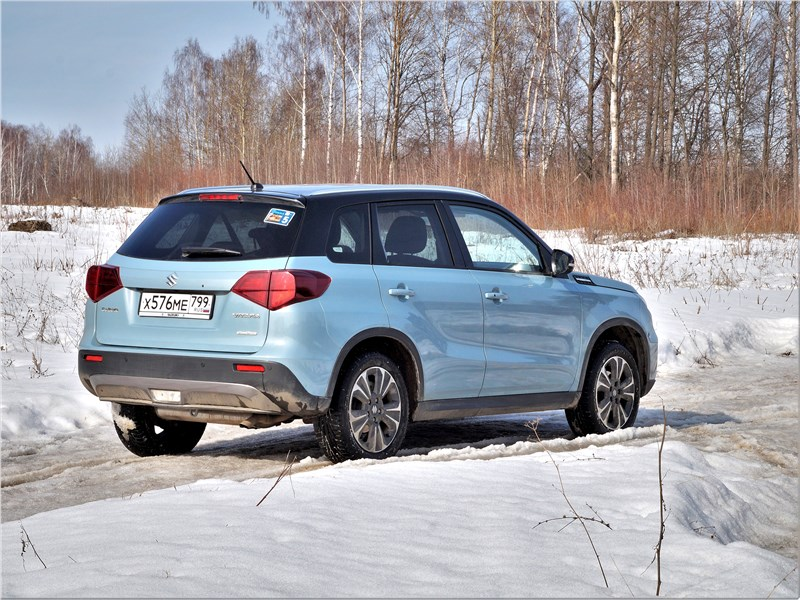 Suzuki Vitara 2019 вид сзади