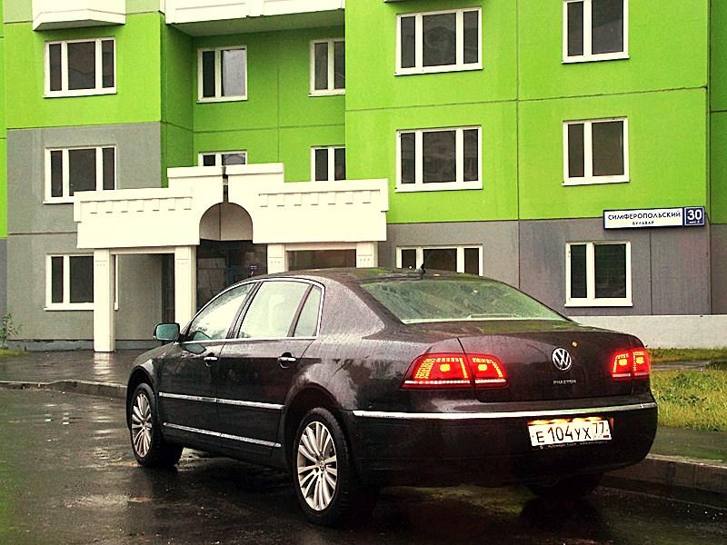 Volkswagen Phaeton 2011 вид сзади
