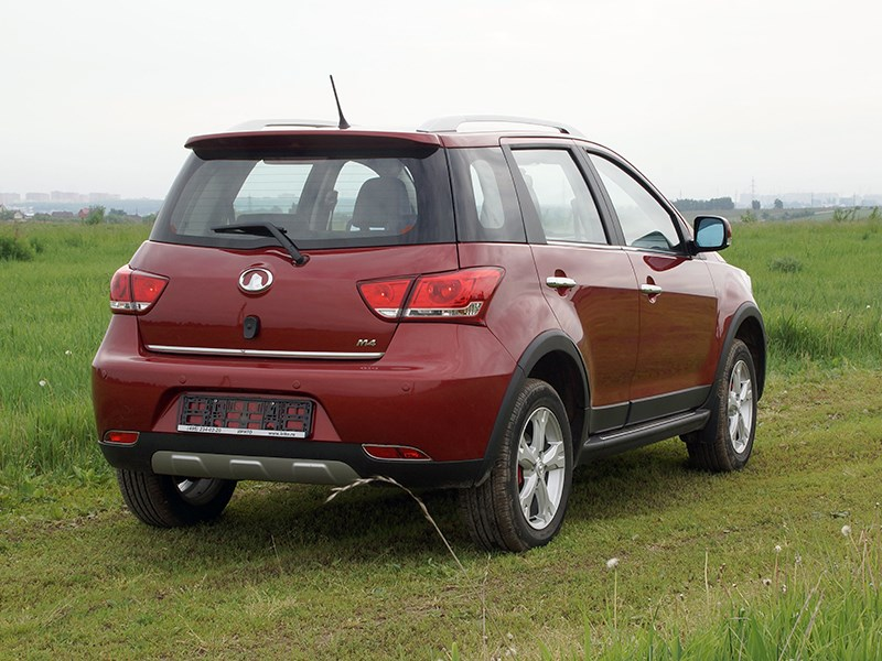 Great Wall Hover M4 2012 вид сзади