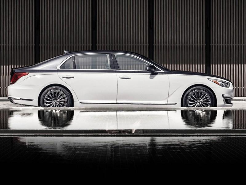 Genesis показал конкурента Mercedes-Maybach