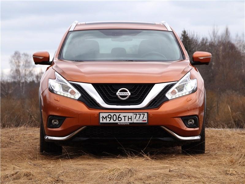 Nissan Murano 2016 вид спереди