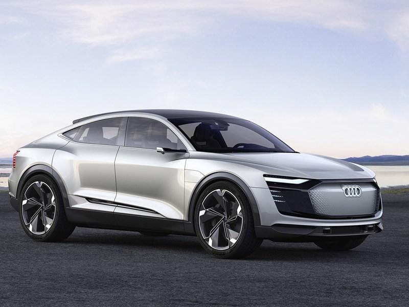 Audi показала электрическое купе-кроссовер