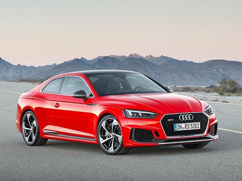 Audi привезла в Россию купе RS5