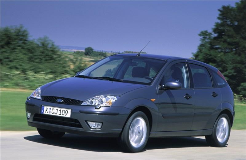 Ford Focus 1998 кузов пядидверный хэтчбек