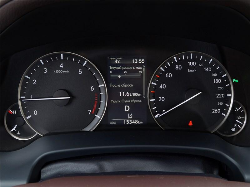 Lexus RX 350L 2018 приборная панель