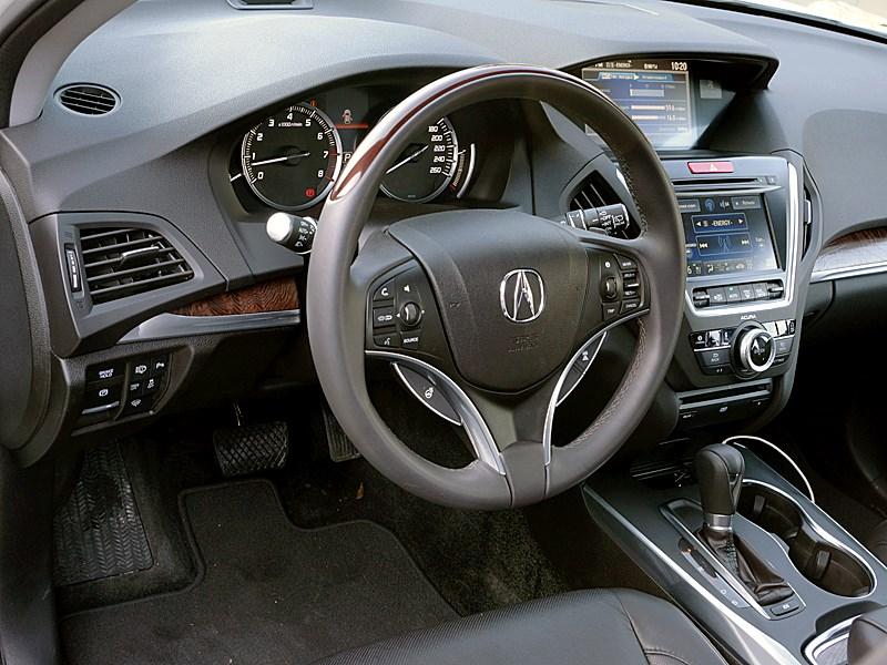 Acura MDX 2014 водительское место