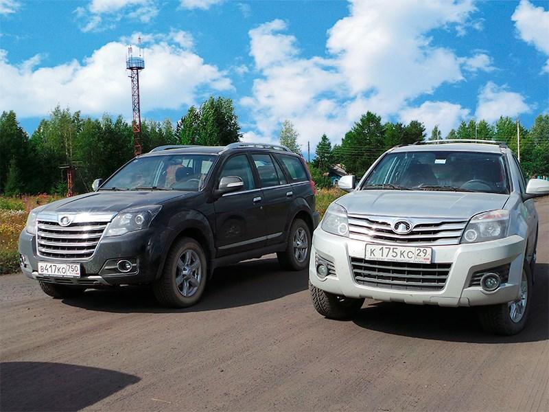 Great Wall H3 (справа) и H3 New – найдите десять отличий