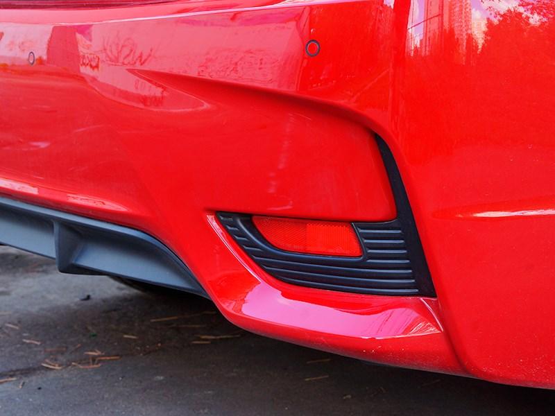 Lexus CT 200h 2014 задний бампер