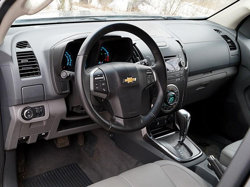 Chevrolet Trailblazer 2012 интерьер