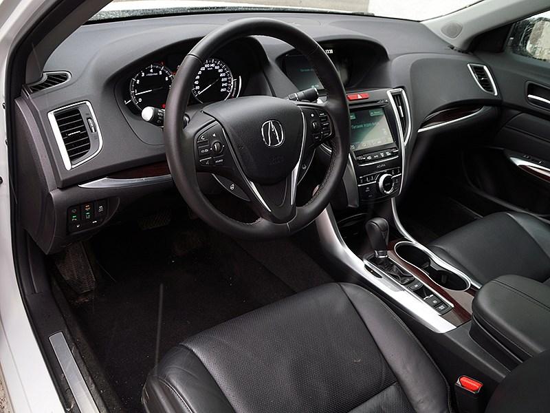 Acura TLX 2015 водительское место