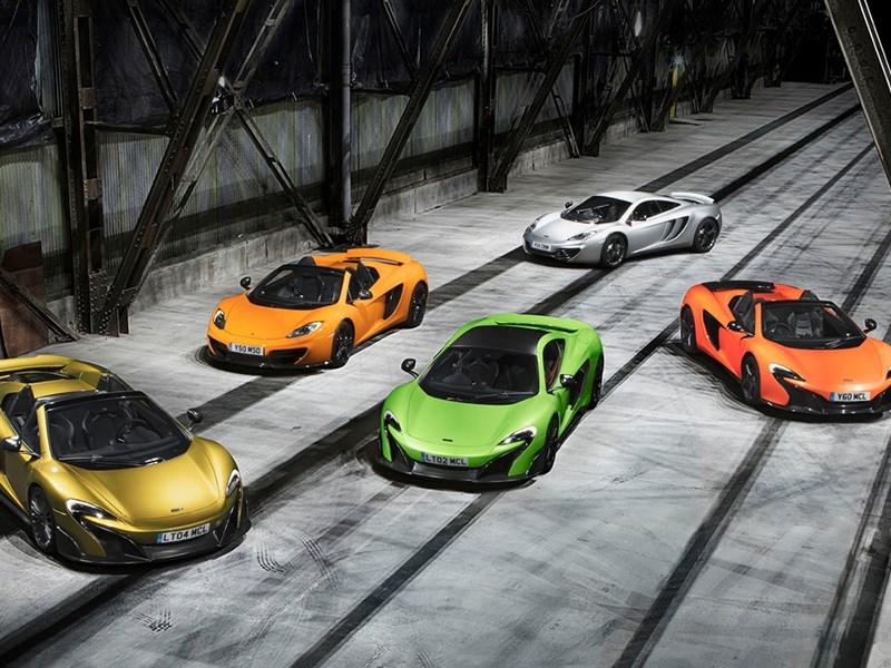 McLaren создаст четырехместную модель