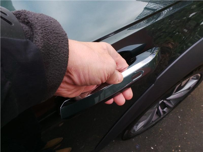 Audi A4 allroad quattro 2016 ручка двери