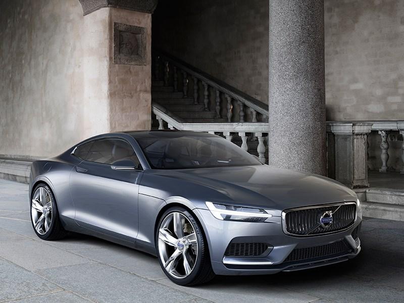 Volvo Coupe концепт 2013 вид спереди фото 3