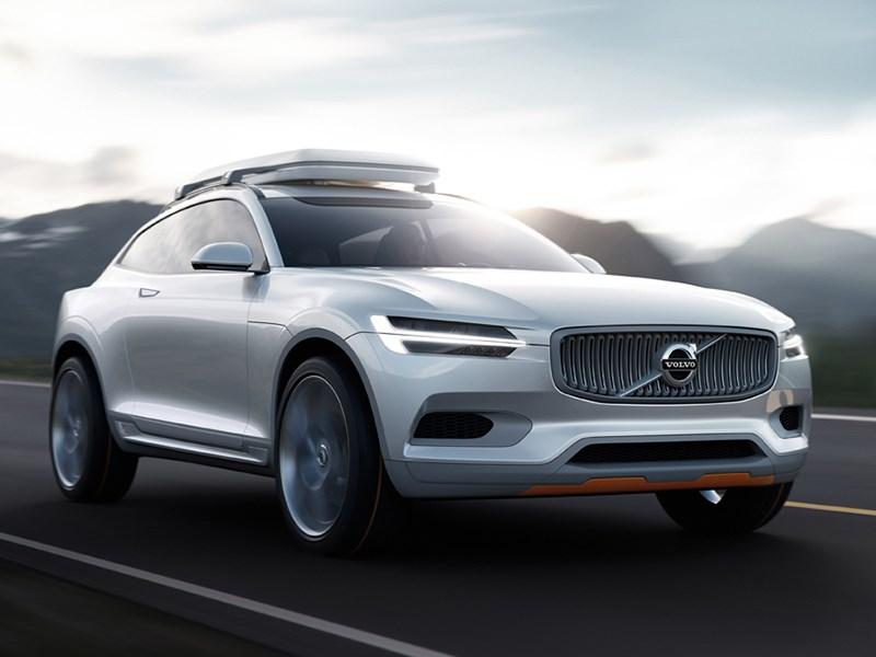 Новый Volvo Concept XC Coupe - Volvo XC Coupe concept 2014 вид спереди