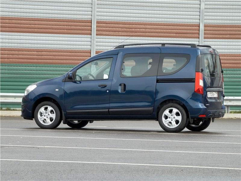 Renault Dokker 2018 вид сбоку
