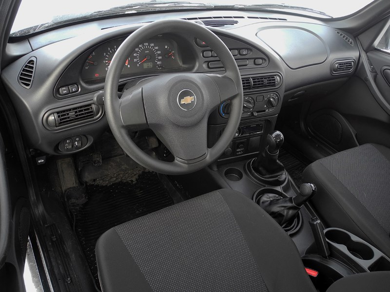 Chevrolet NIVA 2009 водительское место