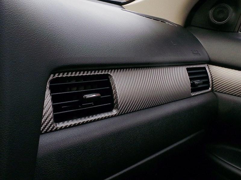 Mitsubishi Outlander 2014 декоративные «плетеные» вставки