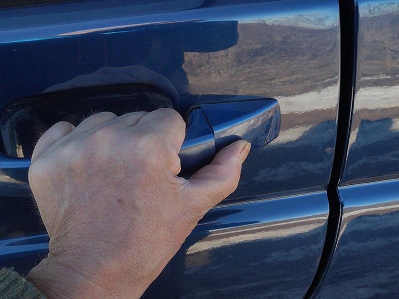 UAZ Pickup 2014 ручка двери