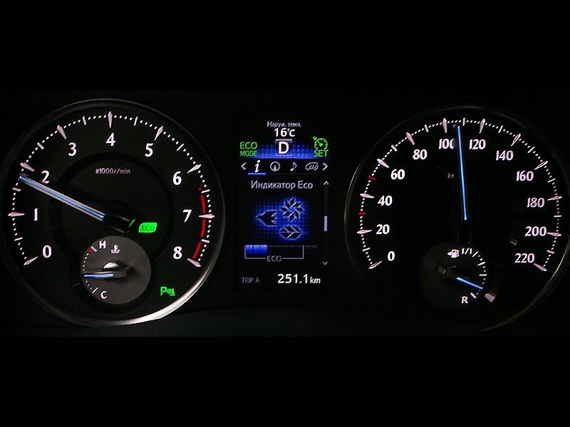 Toyota Alphard 2015 приборная панель