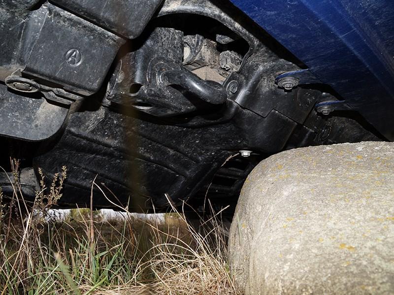 Toyota HiLux 2016 защита