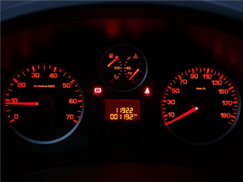 Citroen Berlingo 2012 приборная панель