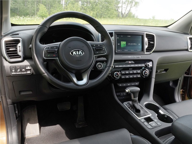 Kia Sportage 2016 водительское место