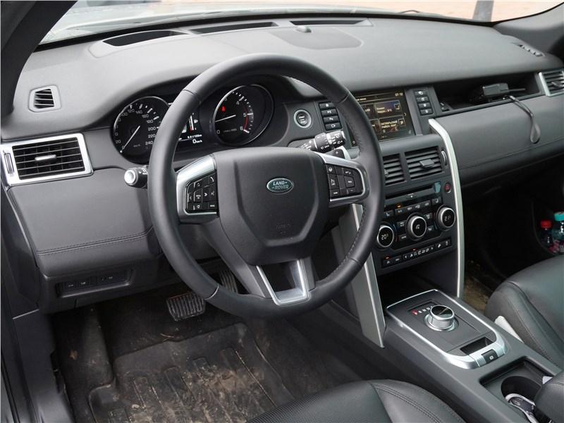 Land Rover Discovery Sport 2015 водительское место