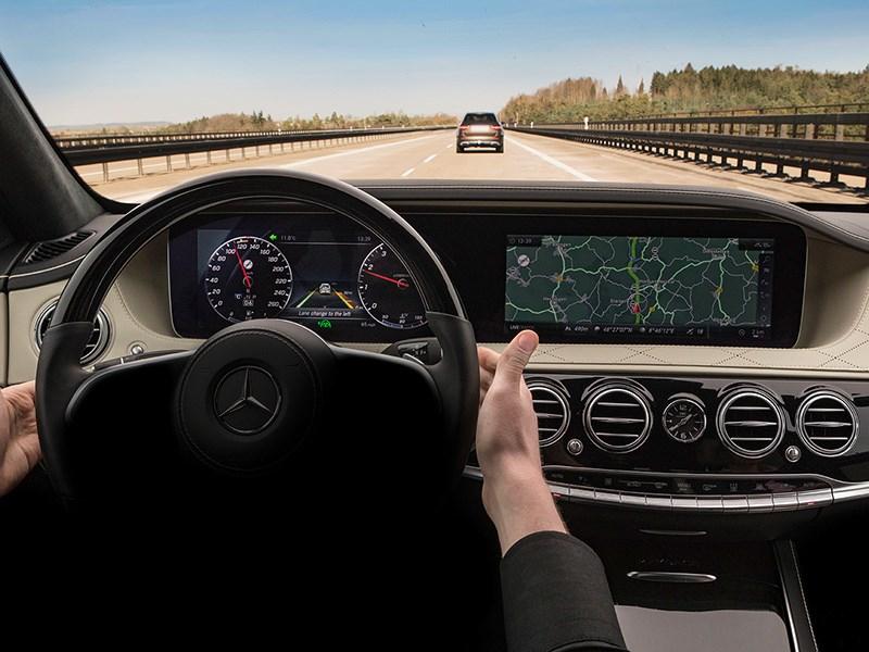 Benz раскрыл технические данные S-Class 2018