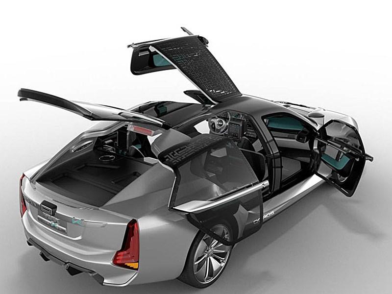 Qoros и Koenigsegg представили концепт суперкара K EV