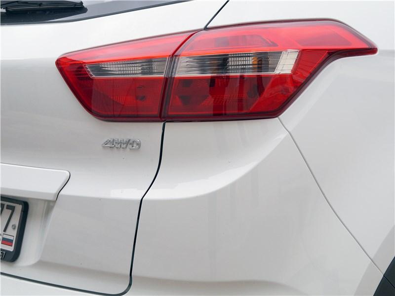 Hyundai Creta 2016 задний фонарь