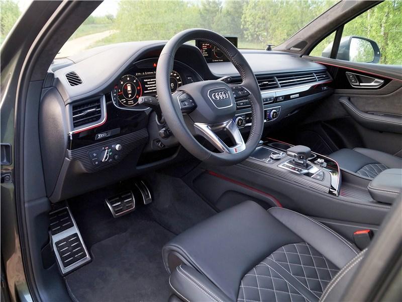 Audi Q7 S-Line 2016 салон